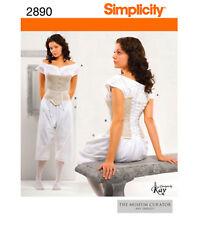Corset Chemise Miss 16 18 20 22 24 Sewing Pattern Retro UNCUT SIMPLICITY 2890