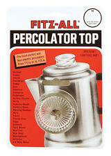 Fitz-All  REPLACEMENT PERCOLATOR TOP (3/16 - 1 1/2in)