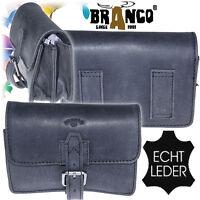 Neu Gürtel Tasche Echt Leder Hüfttasche Reise-Bauch-Handy-Tasche Herren Bag