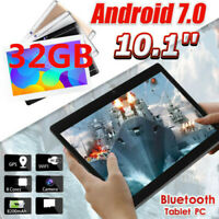 "2019 10.1"" Inch FHD HD Tablet PC Android 7.0 Quad-core 32GB WIFI Dual Camera"