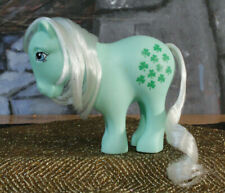 My Little Pony MINTY 25th Anniversary Green Clover Shamrock remake 2007 MLP