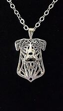 "Beauceron, Berger de Beauce, French Shepherd  Necklace 18"" Chain"