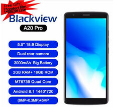 Blackview A20 Pro Smartphone 4G Cellulare 2G+16GB 3-Samsung Camera Android8.1 IT