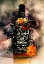 Jack Daniels Canvas Wall A2 A1 A0 Large Gift Present SW0178