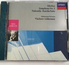 Jean Sibelius: Symphnoy No. 2; Finlandia; Karelia Suite (CD, London) Vladimir
