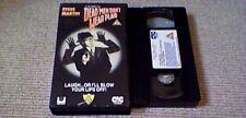 DEAD MEN DON'T WEAR PLAID CIC UK PAL VHS VIDEO 1985 Steve Martin Rachel Ward