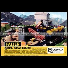 FALLER Accessoires pour train Electrique (1975) : Pub Publicité Advert Ad #B553