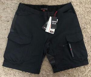 Musto Evolution Performance UV Black Mens Shorts - BNWT - UK 38R - RRP £110