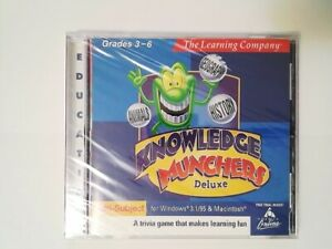 Knowledge Munchers Deluxe Software - Grades 3-6, The Learning Company 1998