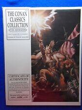 ~~ THE CONAN CLASSICS COLLECTION SET 5 PORTFOLIO BY NESTOR REDONDO #1298/2000 ~~