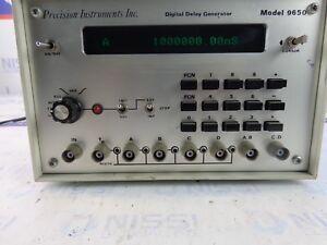 Precision Instruments Inc 9650 Digital Delay Generator