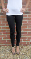 FULL LENGTH Womens Ladies Leggings Pants COTTON Stretch UK SIZE 8 10 12 14 16 18