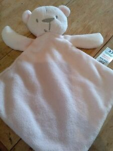 Tesco florence and fred soft roy baby comforr blanket soothee