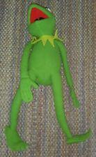 "Vintage 18"" Jim Henson Eden Plush Kermit The Frog Toy Stuffed Animal"