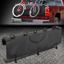53w Waterproof Pickup Truck Tailgate Cover Crash Pad Protector With 5 Bike Racks Fits Chevrolet