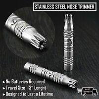 GERMAN Stainless steel Travel Nose Ear Hair Clipper Trimmer Grooming Kit