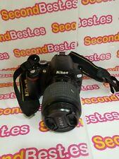 Camara Reflex Nikon D60 Objetivo 55-200mm
