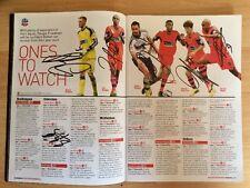 Multi-Signed (6+2) Bolton Wanderers (Away) Programme,  21st September 2013