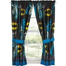 Boys Bedroom Curtain Window Panel Batman Bedroom Decor Home Curtain Drapes Blue