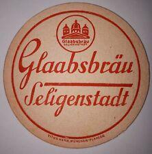 ANCIEN SOUS BOCK - BIERDECKEL - GLAABSBRAÜ SELIGENSTADT