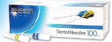 "Plastic Hub Disposable Dental Needles 30G Short Plastic 100/bx Mark3 #16306 1"""