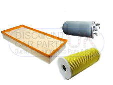 Oil Air Fuel Filter Audi Allroad 2.5 D 24v 2496 Diesel 180 BHP 4/00-11/05