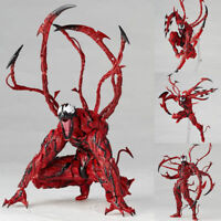 7'' Marvel Heroes Carnage Red Venom No. Revoltech Series PVC Action Figure Toys