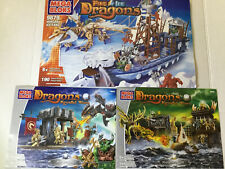 Mega Bloks Dragons 9879 9885 9883 Instruction Manual Only