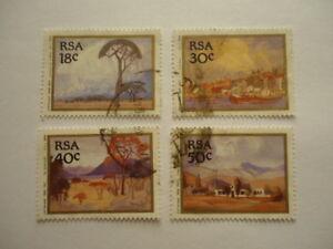 South Africa 1989 SG689-692 18-50c Used Paintings Jacob Hendrik Pierneef