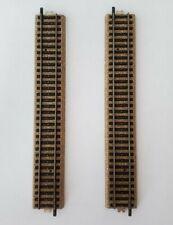 "Vintage Marklin Straight Track Pieces H0 Scale 9.5"""