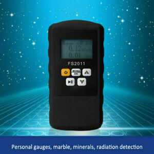 Digital LCD Geiger Counter Nuclear Radiation Detector Alarm Gamma Dosimeter