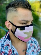 2 PACK Gorilla Mask Co. Face Mask Pink Camouflage 100% Cotton