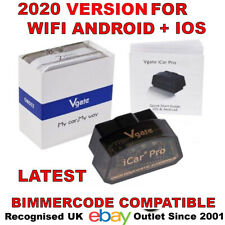 Vgate iCar Pro WIFI BLE 4.0 BIMMERCODE BMW Coding iPhone iPad Android OBD2 UK
