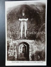 East Sussex HASTINGS St Clements Cave,Sculptored Figure c1908 RP by Wildt & Kray