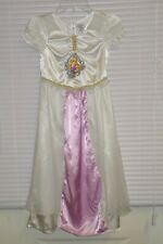 Disney Store Tangled Princess Rapunzel Wedding Bride Nightgown Size 5-6 Girls