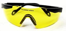 Classic Army Amber Airsoft Safety Glasses