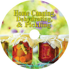 Home Canning Food Vegetables Preserving Jars Self Sufficiency Recipes on DVD