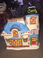 Dept 56 & Disney Mickeys Christmas Village MICKEY'S CANDY SHOP house