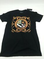 AKOO MENS S/S  T-Shirt Mens Size LARGE 100% AUTHENTIC NICE  RARE 1OF1 BLACK/MULT