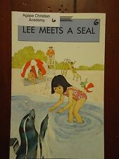Lee Meets a Seal by Ann Hughes - Open Court Reading - (PB, 1989) Good! (B-3)