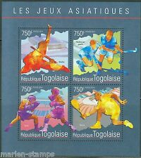 TOGO 2014 THE ASIAN GAMES  SHEET  MINT NH