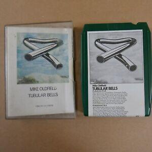 8 track cartridge + case MIKE OLDFIELD - TUBULAR BELLS