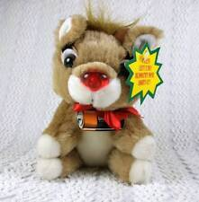 Duracell Batteries Applause Baby Rudolph Red Nose Reindeer Plush 1993 All Tags
