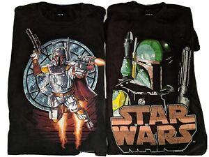 Star Wars Boba Fett Men's Graphic T-shirt Lot