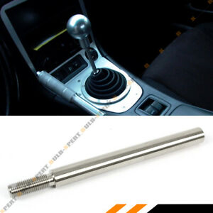 M10 X 1.5 STAINLESS STEEL 6'' LONG SHIFTER EXTENDER EXTENSION FOR HONDA ACURA