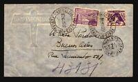 Brazil 1937 Airmail Cover  - Z14587