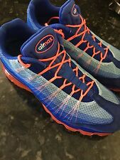 MEN'S NIKE AIR MAX FLYKNIT MAX SHOES MULTI COLOR 620469-012 SIZE 12