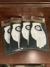 (4) Brand New Titleist Players Men'S Golf Gloves Medium Rh Golfer