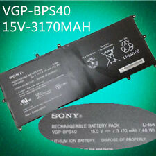 48Wh VGP-BPS40 Genuine Laptop Battery FOR Sony VAIO 15N18PXB SVF15N28PXB
