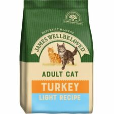 James Wellbeloved Adult Light Dry Cat Food - Turkey - 4kg